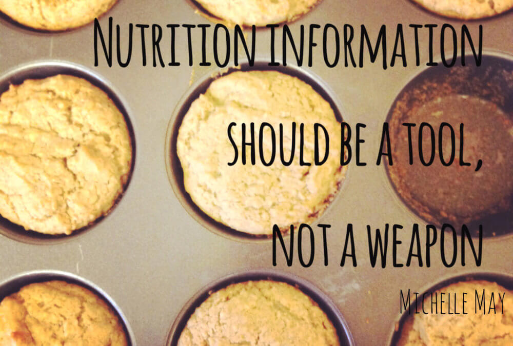 Nutrition Information: A tool or a weapon?