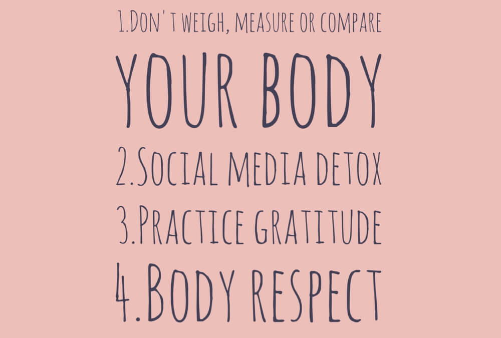 4 Tips For Body Positivity and Food Peace