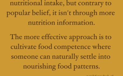Are you a competent eater? Here's how to tell.