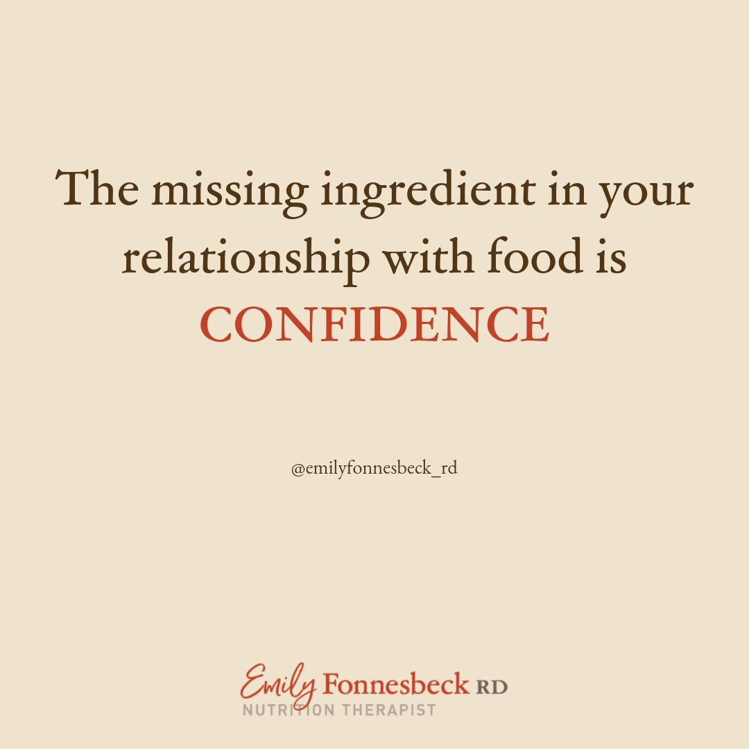 Eat Confident Foundations